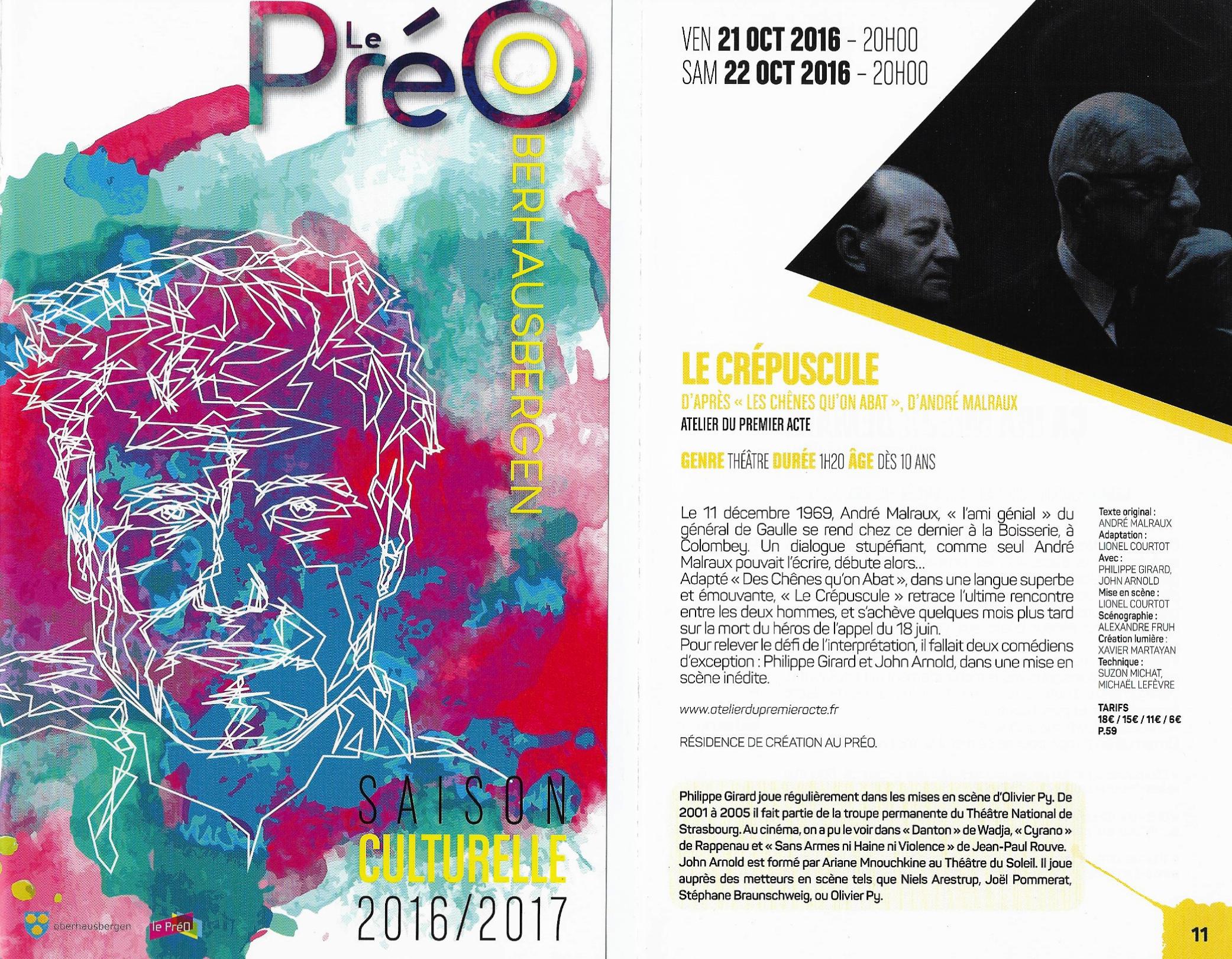 Revue de presse du PréO